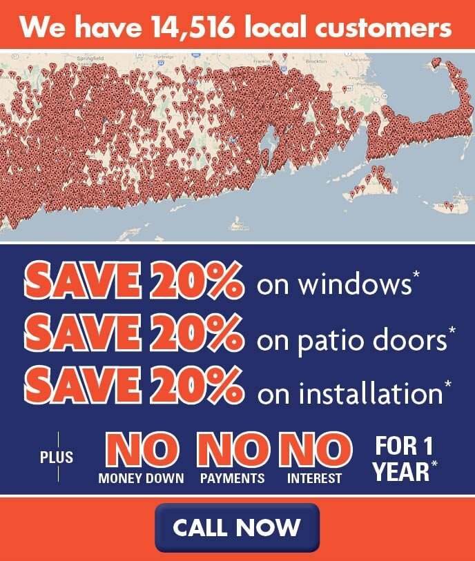 new england replacement window sale april 2017
